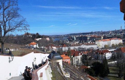 FOTKA - výhled ze schodů