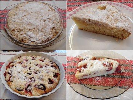 FOTKA - Jogurtové koláče -  s jablky a jahodami (21.11.)