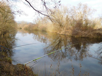 FOTKA - Poslední pokusy o chycení ryby v tomto roce (30.12.)