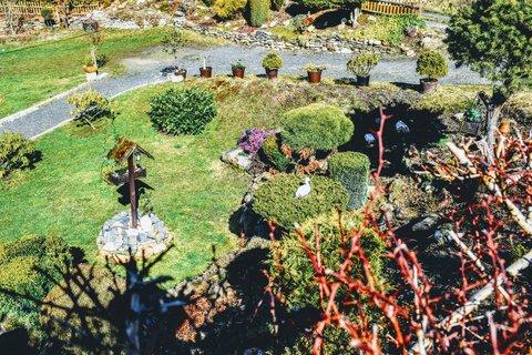 FOTKA - Pohled do zahrady