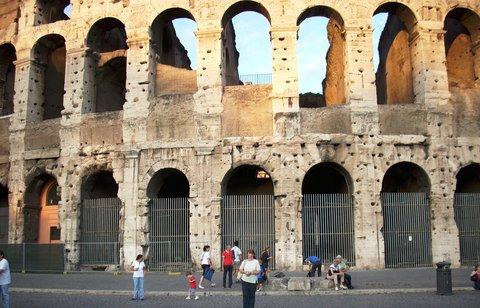 FOTKA - Coloseum v Římě