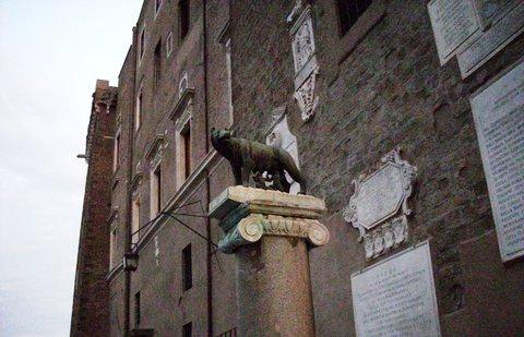 FOTKA - vlčice v Římě,