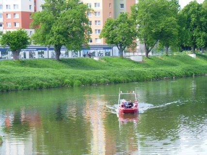 FOTKA - lodička na řece