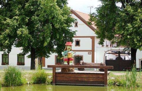 FOTKA - Holašovice, vodník
