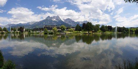 FOTKA - Letní procházka okolo Ritzensee - Panorama
