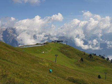 FOTKA - Z Asitzu ke Geierkogelhütte - Pohled zpět