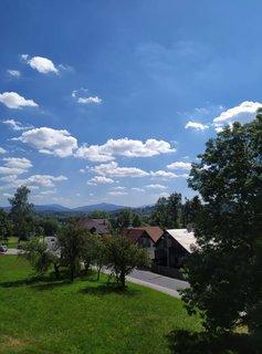 FOTKA - Pohled z terasy z restaurace