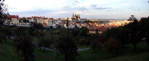 FOTKA - Pohled z Petřína na centrum Prahy