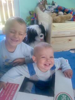 FOTKA - Veselé sourozenci