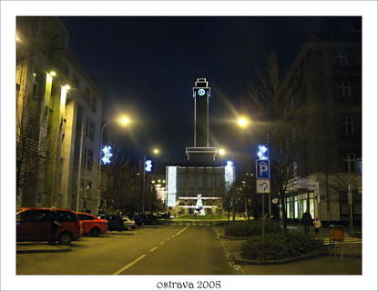 FOTKA - radnice Ostrava 2008