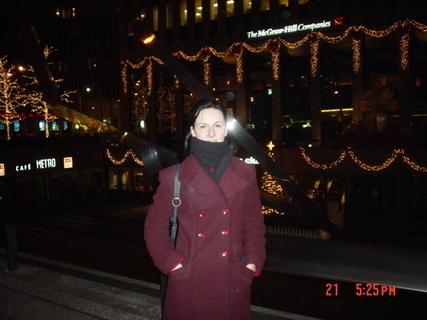 FOTKA - Vánoce v NY