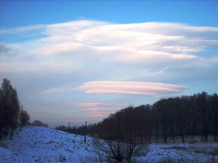 FOTKA - Mraky / prosinec 2008 /.