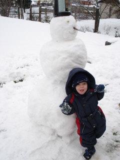 FOTKA - To je můj sněhulák