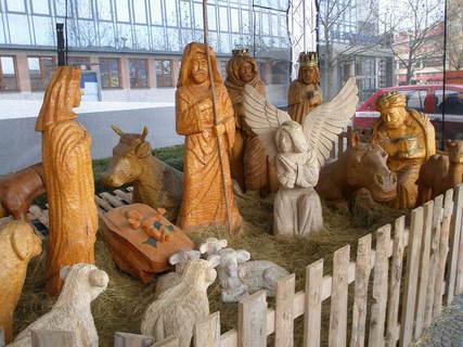 FOTKA - Halouzkův betlém v Olomouci