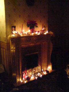 FOTKA - první vánoce v Anglii