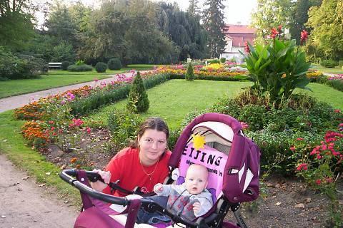 FOTKA - Foto v Zámecké zahradě!