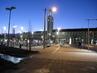 večerní hradecké nádraží