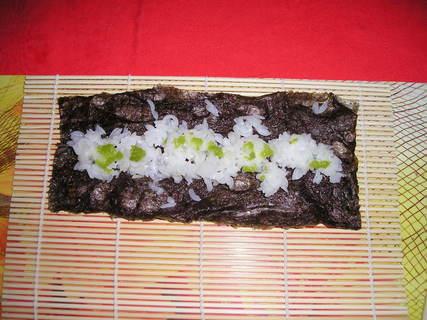 FOTKA - Řasa, rýže a wasabi
