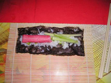 FOTKA - Příprava sushi