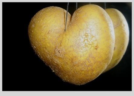 FOTKA -  bramborové srdce