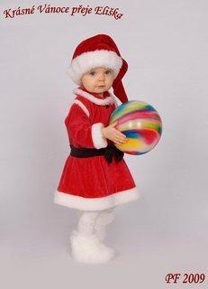 FOTKA - Eliška přeje krásné Vánoce