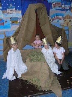 FOTKA - Ježíšek v Betlémě