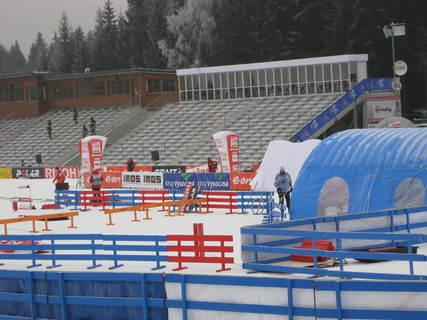 FOTKA - Zlatá lyže 1.1.2009-před zahájením