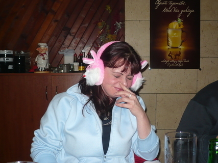 FOTKA - silvestr 2008-Jarča se sluchátkama