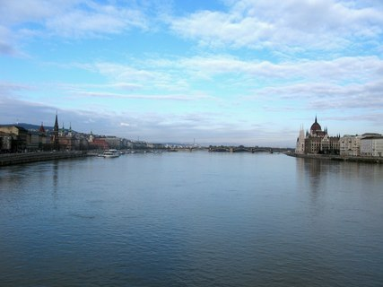 FOTKA - Dunaj v Budapešti