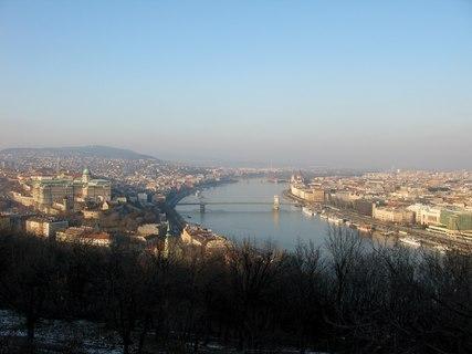 FOTKA - Pohled na Budapešť