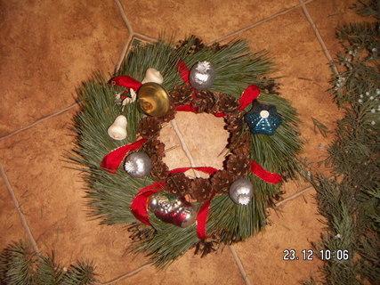 FOTKA - vánoční věnecek