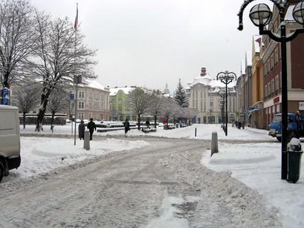 FOTKA - Sněhová kalamita v Hradci