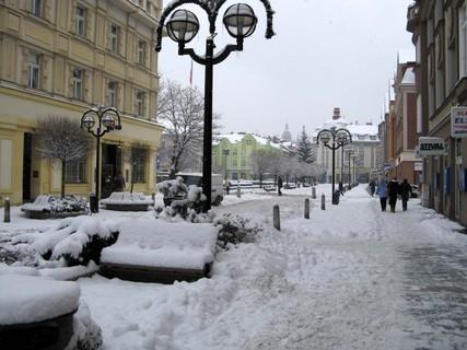 FOTKA - Sněhová kalamita v Hradci,,,