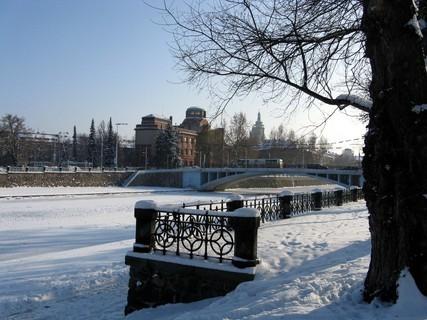 FOTKA - Zamrzlá řeka