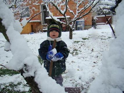 FOTKA - Bětuška v zimě
