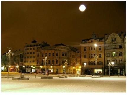 FOTKA - noční Ostrava