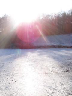 FOTKA - Na zamrzlém rybníku III