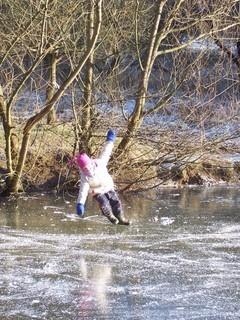 FOTKA - Na zamrzlém rybníku I