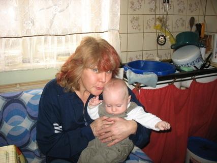 FOTKA - Ondrášek s tetou