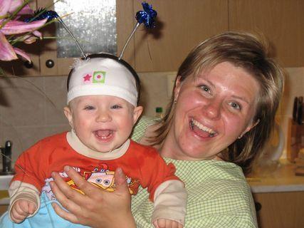 FOTKA - Ondrášek s mámou