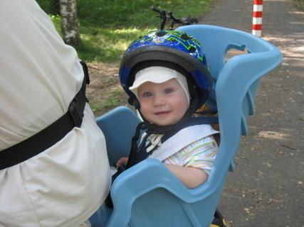 FOTKA - Ondrášek prvně na kole