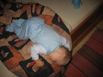 FOTKA - Takto usnulo naše děťátko
