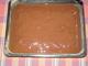 perník se švestkovými povidly-politý čokoládou