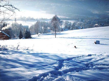 FOTKA - Minkovice  pod sněhem  / leden 2009/ .