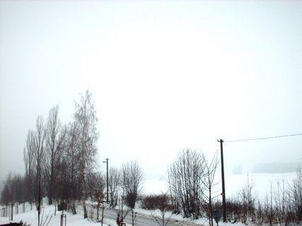 FOTKA -  21.1.2009 .Mlha ! Není vídět Ještěd, nejsou vídět hory...