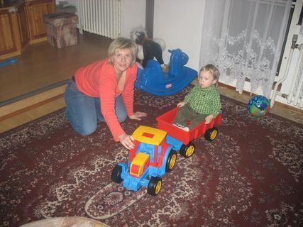 FOTKA - Ondrášek s mamkou