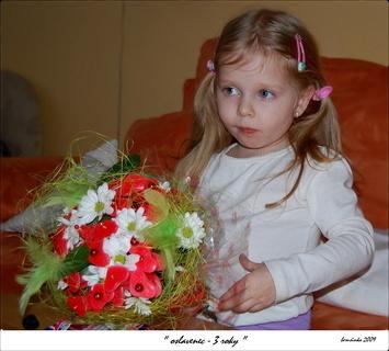 FOTKA -  dítě ve fotografii - oslavenec