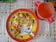 dnešní oběd pro děti  a pro nás-smažený květáček