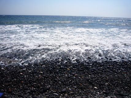 FOTKA - Santorini-pláž Kamari