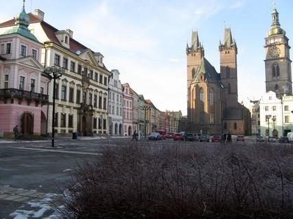 FOTKA - Velké náměstí v Hradci
